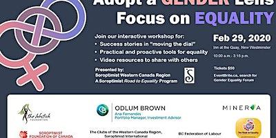 Adopt a Gender Lens: Focus on Equality Forum
