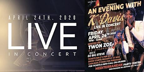MAJIK E Presents An Evening With K Davis tickets