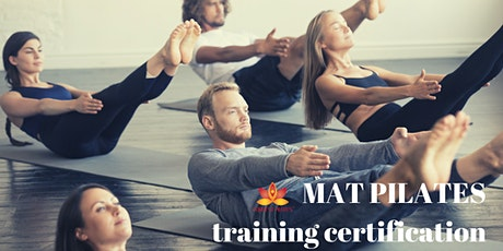 Mat Pilates Training Certification with Maria Forrest tickets