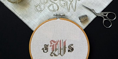 Making Your Mark:  Embroidered Monograms