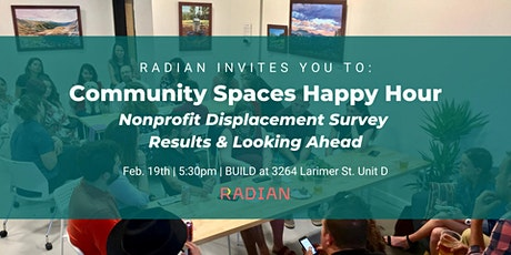 Community Spaces Happy Hour tickets