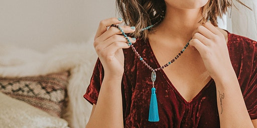 Mala Making Workshop with Justicia Artisan Jewelry