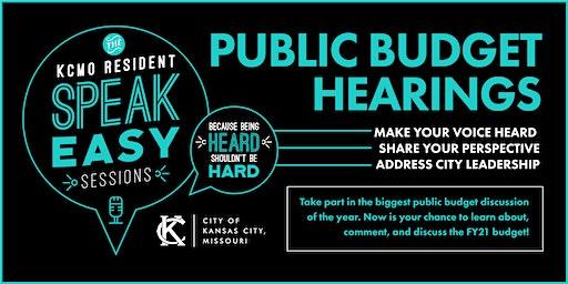 KCMO Public Budget Hearing (North)
