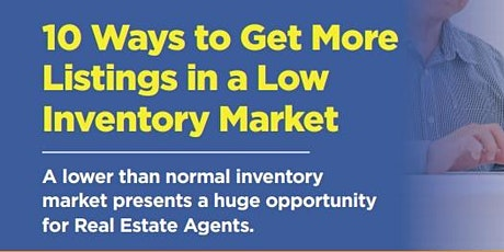 10 Ways to Get More Listings tickets