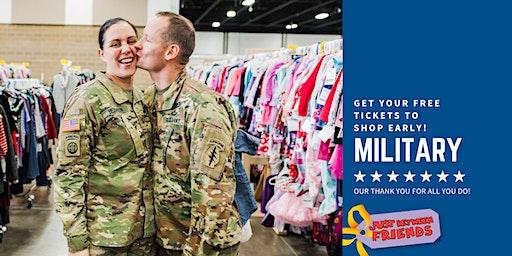 Military Family Presale Shopping Pass (FREE) - JBF Arlington - Spring 2020