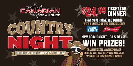 Country Night (Saskatoon Stonebridge) tickets