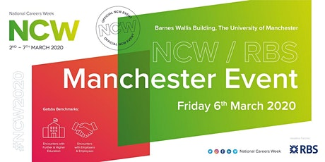 NCW2020 RBS Official Manchester Event tickets