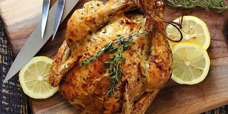 Herb Roasted Chicken with Prosecco tickets