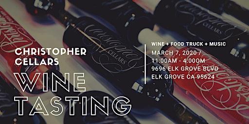Christopher Cellars Wine Tasting