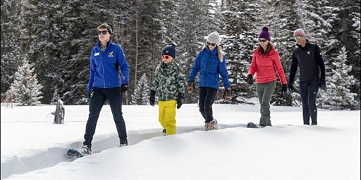 Out & About on Snowshoes a Family Affair