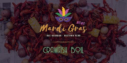 Crawfish Boil - Mardi Gras 2020