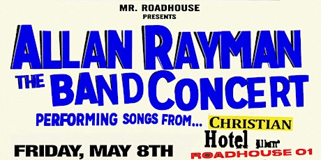 ALLAN RAYMAN THE BAND CONCERT tickets