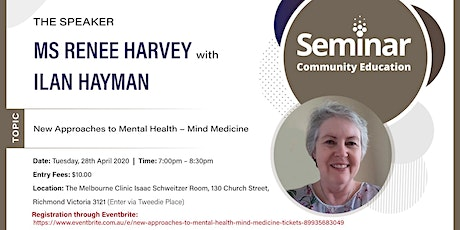 New Approaches to Mental Health - Mind Medicine tickets