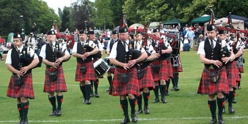 Campbell River Highland Gathering Pipes and Drums Competition