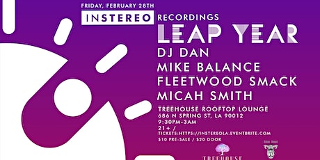 InStereo Recordings: Leap Year feat. DJ Dan and more! tickets