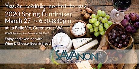 SAVAnon Spring Fundraiser tickets
