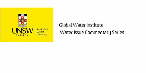 GWI Water Issue Commentary Series: Deirdre Dunne