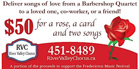 Singing Valenties tickets
