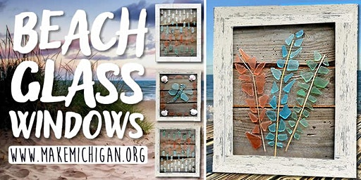 Beach Glass Windows - Trufant