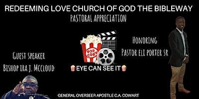 Redeeming Love Church of God the Bibleway  —  Pastoral Appreciation