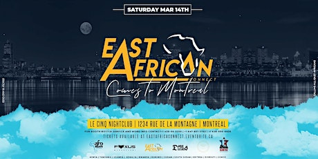 East African Connect MTL tickets
