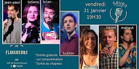 Seven Comedy Club N°48 billets