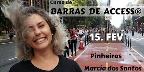 Curso Barras de Access® 15/02, com Marcia dos Santos ingressos