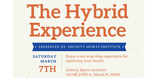 The Hybrid Experience Presented by: Infinity Sports Institute