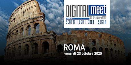 DIGITALmeet Roma 2020 biglietti