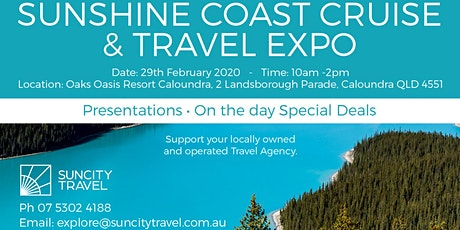 Sunshine Coast Travel & Cruise Expo tickets