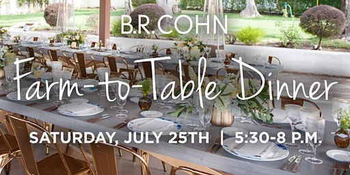 B.R. Cohn Farm-to-Table Dinner