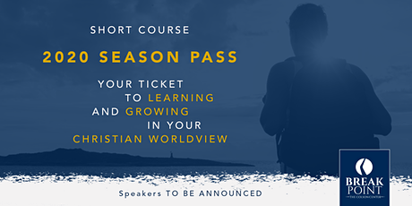 Colson Center Short Course: 2020 Season Pass tickets