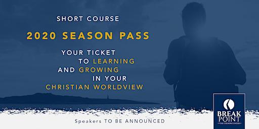 Colson Center Short Course: 2020 Season Pass