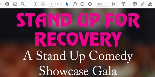 Stand Up for Recovery