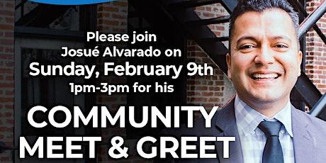 ***Free Event*** Josue Alvarado Community Meet and Greet tickets