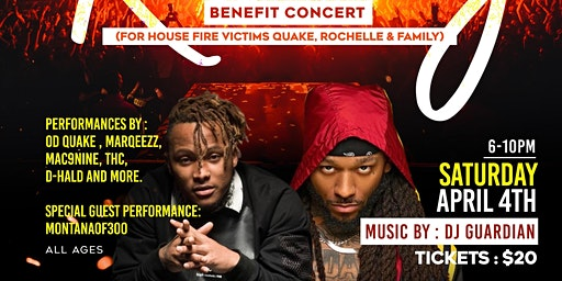 Rising (Benefit Concert) MontanaOf300 X OdQuake