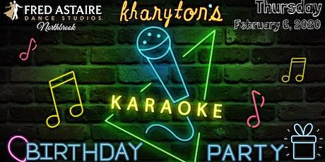 Kharyton's Karaoke Birthday Dance Party tickets