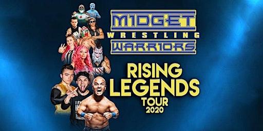 "The Midget Wrestling Warriors ""Rising Legends"" Tour at Average Joe's"