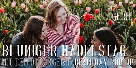 Bloomgerie Birthday Pop Up Tickets