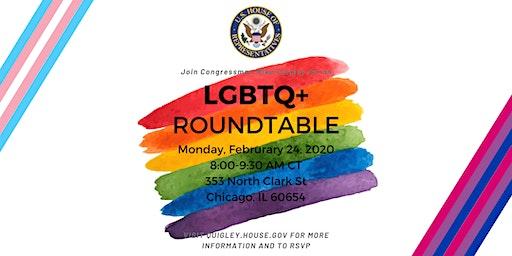 Congressman Quigley's LGBTQ+ Roundtable