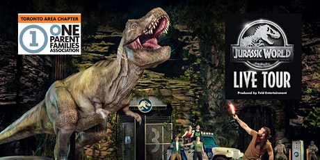 Single Parents go to Jurassic World LIVE tickets
