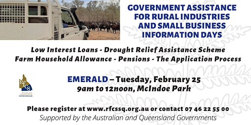 Emerald Government Assistance Information Day