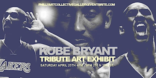 FREE EVENT : KOBE BRYANT ART TRIBUTE EXHIBIT