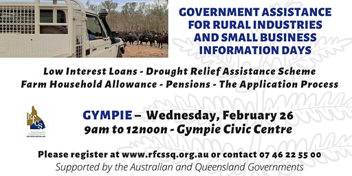 Gympie Government Assistance Information Day