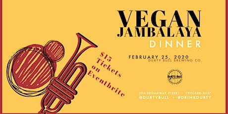 Fat Tuesday Vegan Jambalaya Dinner tickets