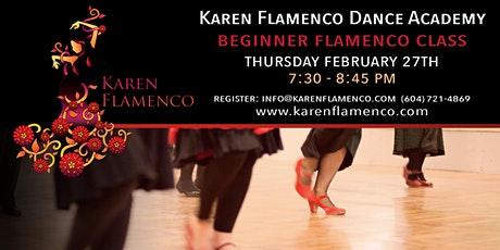 Beginner Flamenco Class - Karen Flamenco Dance Academy tickets