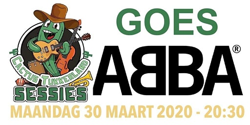 ABBA Tukkerland Tribute Sessie in De Cactus op 30 maart 2020