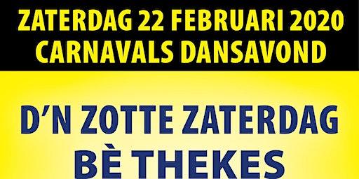 Thekes - D'n Zotte Zaterdag 18+