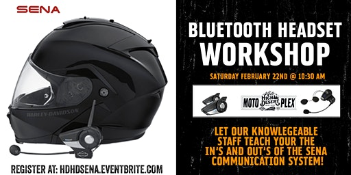SENA Bluetooth Headset Workshop