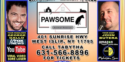 Pawsome Pet Rescue's 4th Annual Comedy show & fundraiser!